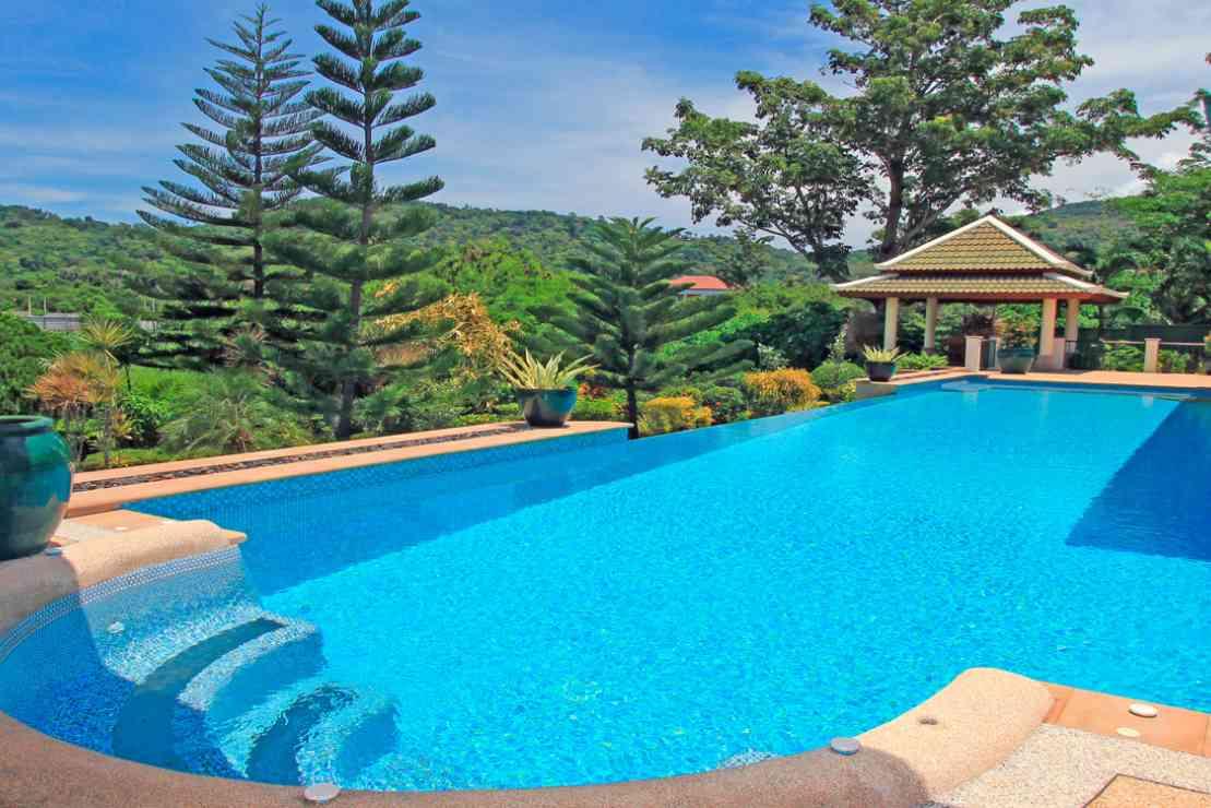 Mountain View Villas - Pool Jacuzzi